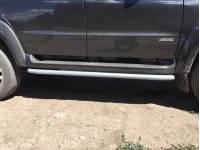 Подножки-защиты порогов на УАЗ Патриот 2015-