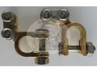 Клемма АКБ12/24V бронзавая угловая (комплект)