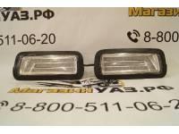 Подфарники (надфарники) светодиодные НИВА 2121, 21213, 21214 (комплект 2шт.) белые