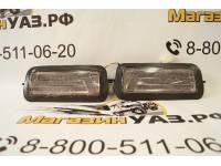 Подфарники (надфарники) светодиодные НИВА 2121, 21213, 21214 (комплект 2шт.) дымчатые