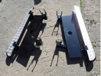 Подножки на УАЗ 469, Хантер силовые с креплением к раме под HI-JACK