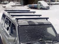 Поперечные рейлинги на УАЗ Патриот