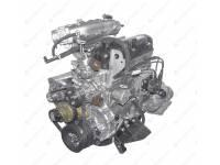 Двигатель УМЗ (Газель Бизнес Евро-4) под ГУР (1 катушка) с поликл. ремнем привода агрегатов (42164.1000402-70)