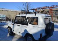 Багажник на УАЗ Хантер Турист 1.85 м (6 опор)