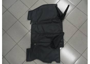 Коврик шумоизол. под рычаги (в/кожа, поролон, ватин) на УАЗ 452 (серый)