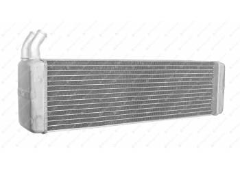 Радиатор отопления 469 в сборе (АЛЮМИН.,кривой патр.) d-20 (LRh 03690b)LUZAR (3151-8101060-32)